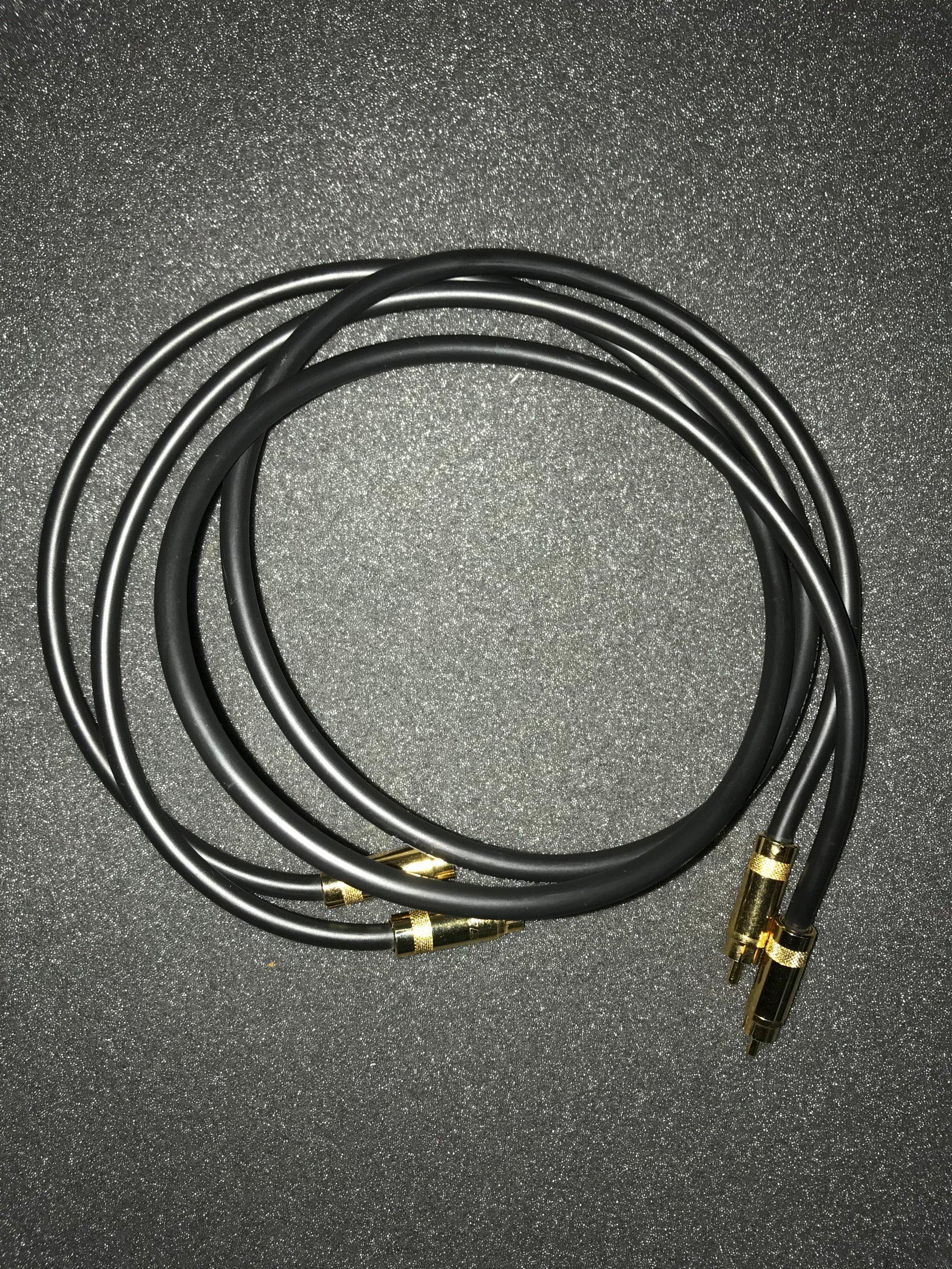 Kabel Interkonekt 2xRCA Klotz LY260 R-Audio 1m
