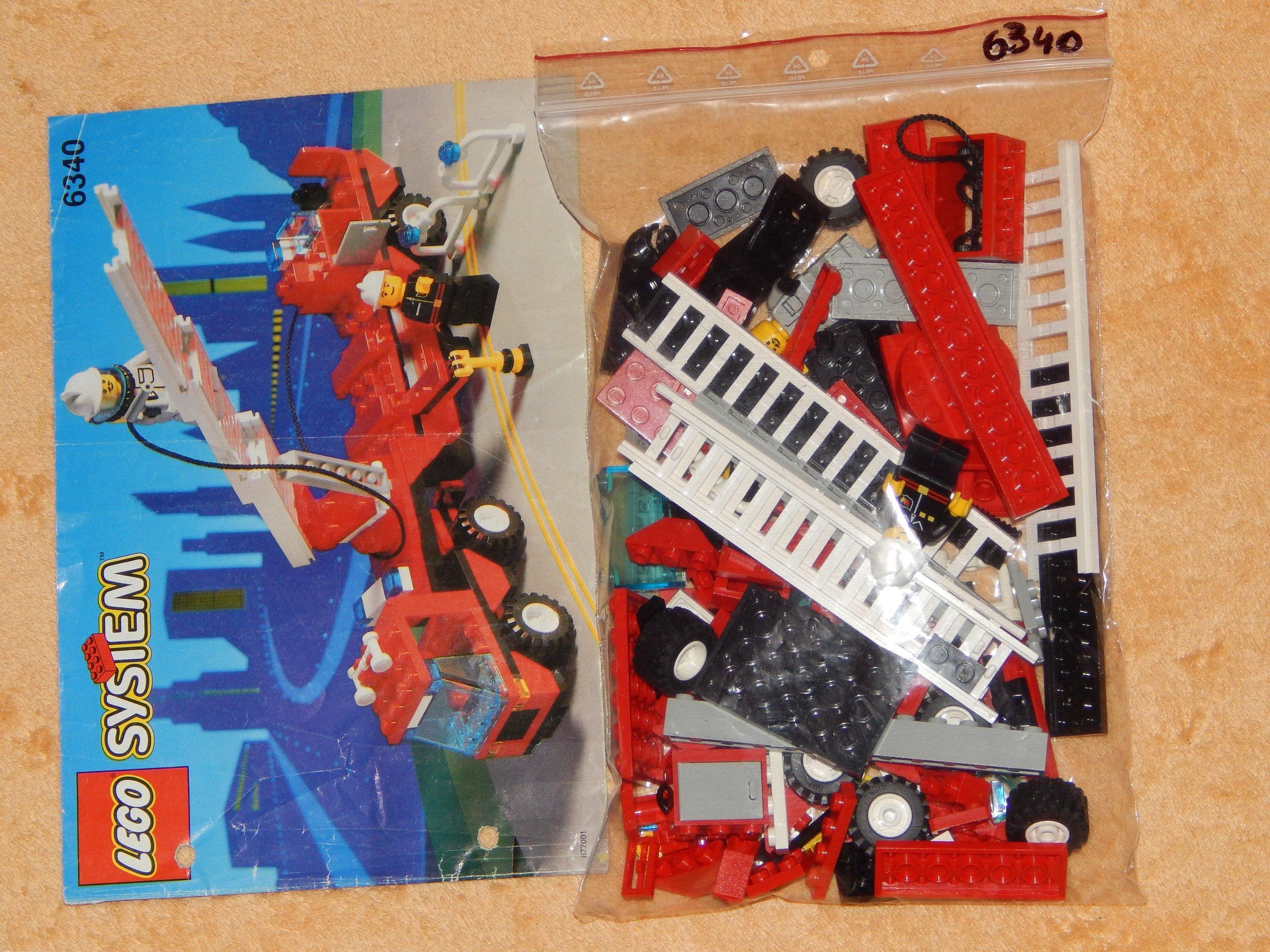 Lego System 6340 Straż Pożarna City Z Instrukcja 7055932921