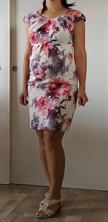 290eb9de5b Sukienka ciążowa GARDENIA Piękna Mama roz. M - 7671928616 ...