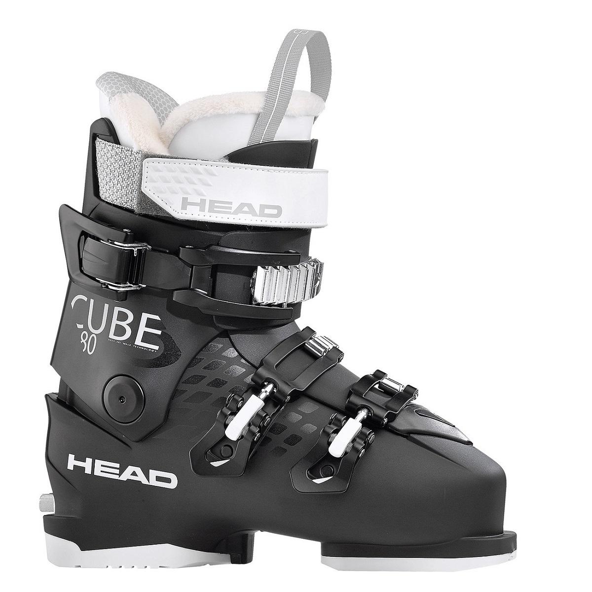 46dbae22 Buty narciarskie Head Cube3 80 W Czarny 25/25.5 - 7600257850 ...