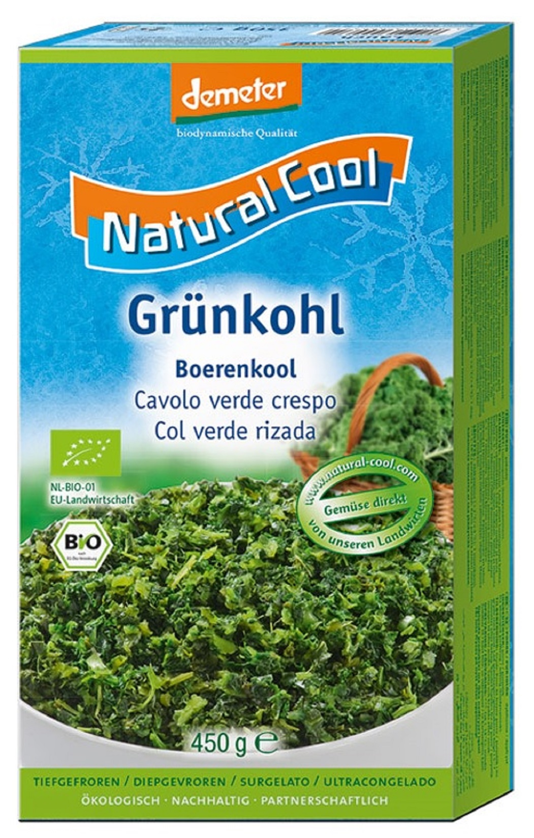 JARMUŻ MROŻONY BIO 450 G NATURAL COOL