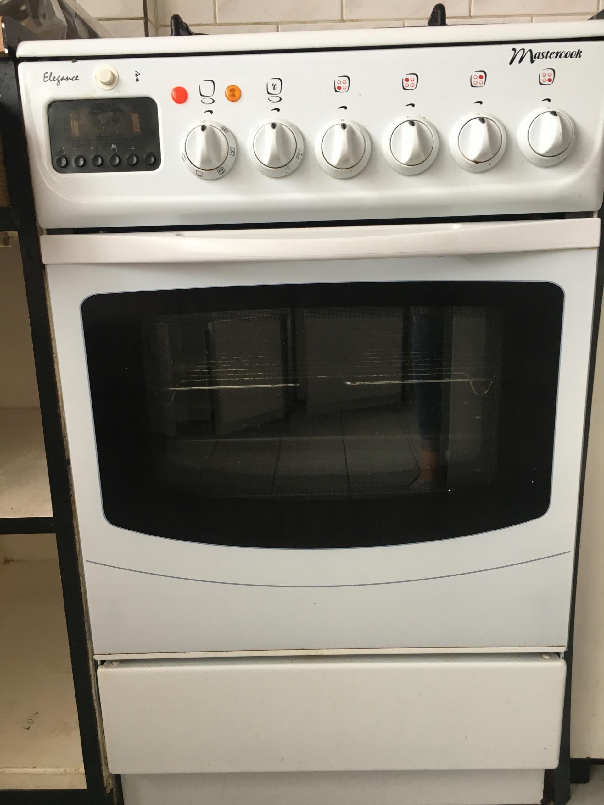 Kuchnia Gazowo Elektryczna Mastercook Typ 347