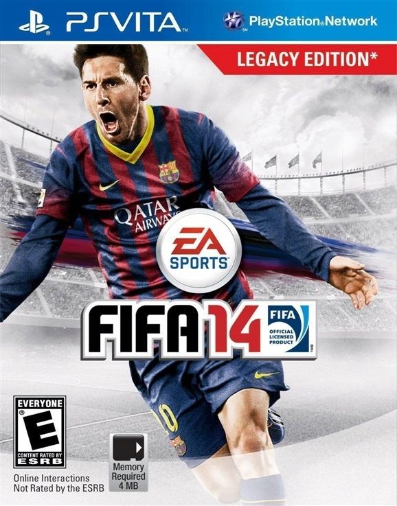 FIFA 14 LEGACY EDITION PSV UŻYWANA