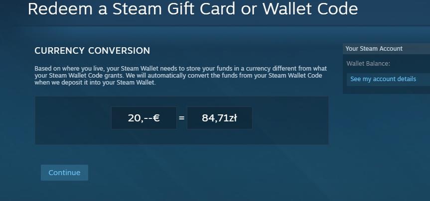 Steam Wallet Code 20 Euro 84 Zl 7316556228 Oficjalne Archiwum