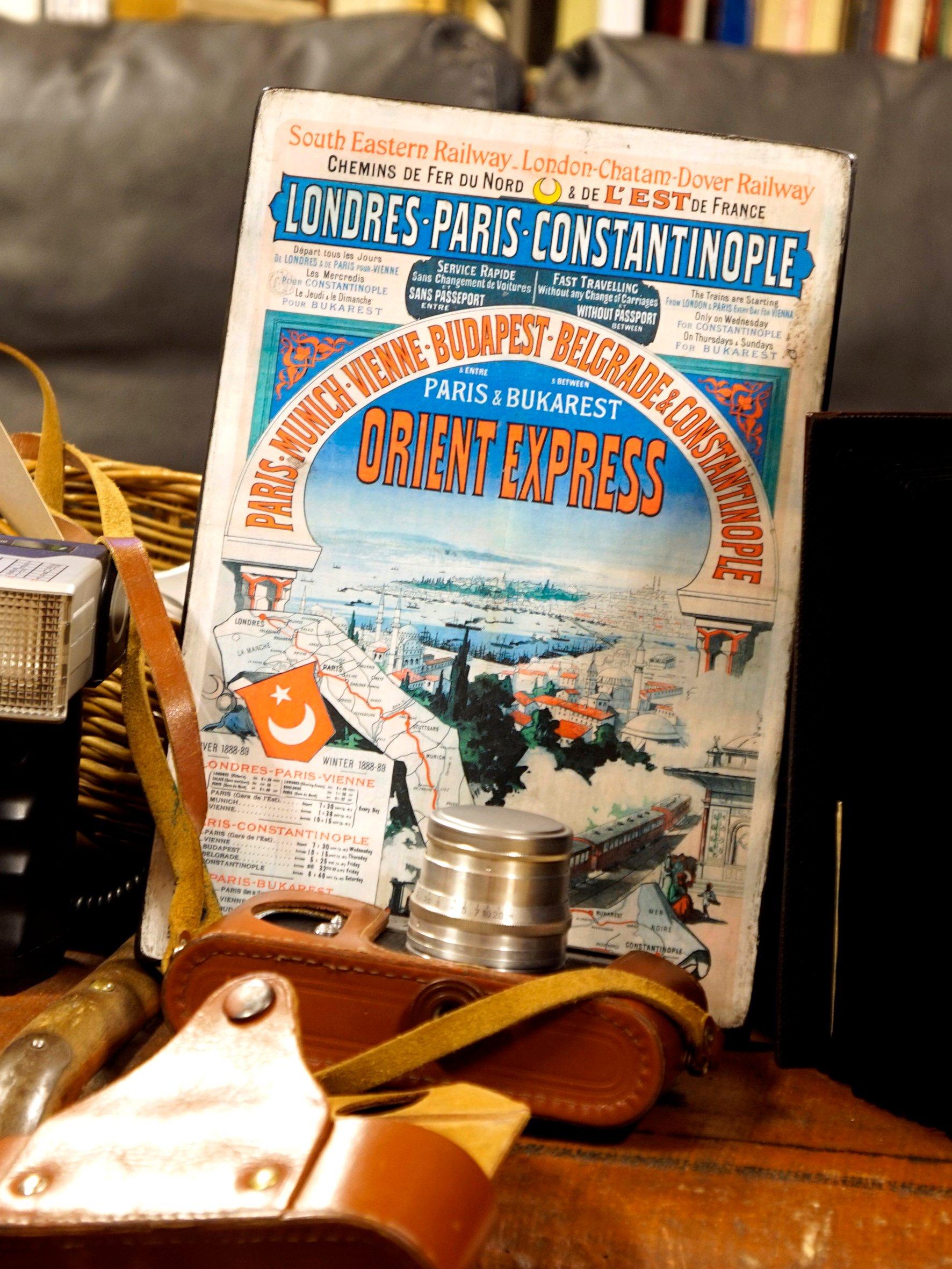 Stare Plakaty Na Desceorient Express 1888 R 7044282669