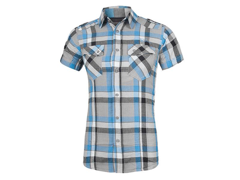 7d78c227549b90 Koszula Męska z Krótkim Rękawem CLOVER Koszule M - 6981739667 ...
