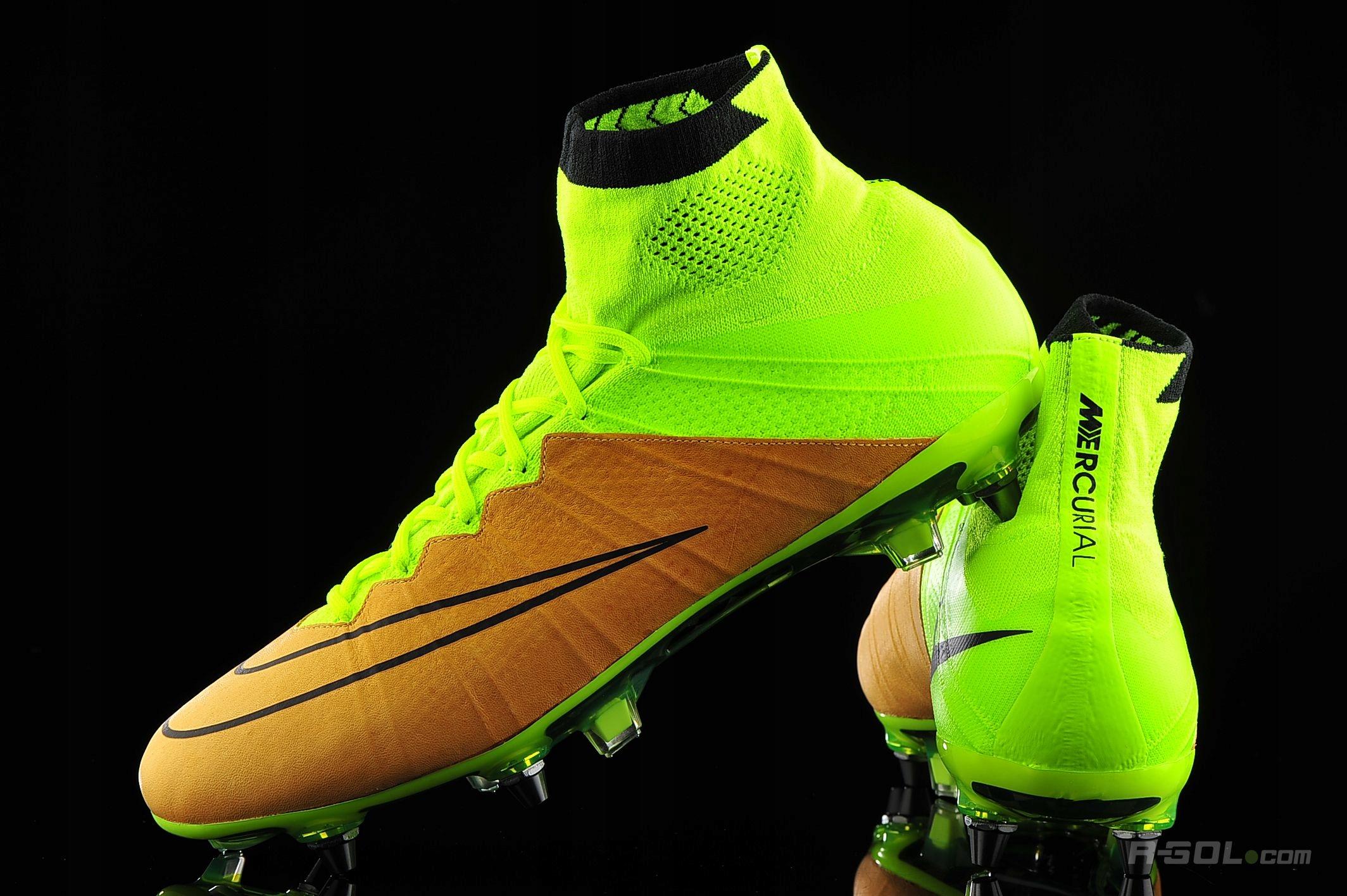 2222d2669 korki Nike Mercurial Superfly Leather PRO 41 nowe - 7505329345 ...