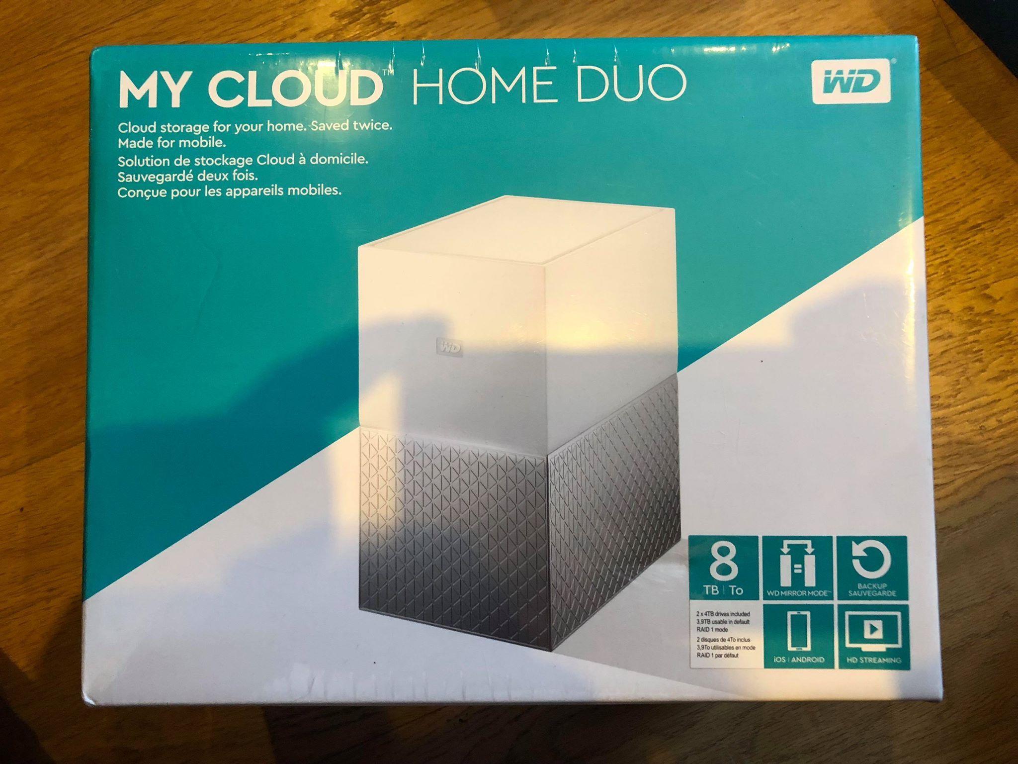 Jual Wd My Cloud Nas 8 Tb Terbaru 2018 Aigner A24206e Original Western Digital Home Duo 8tb Gw 7258036699