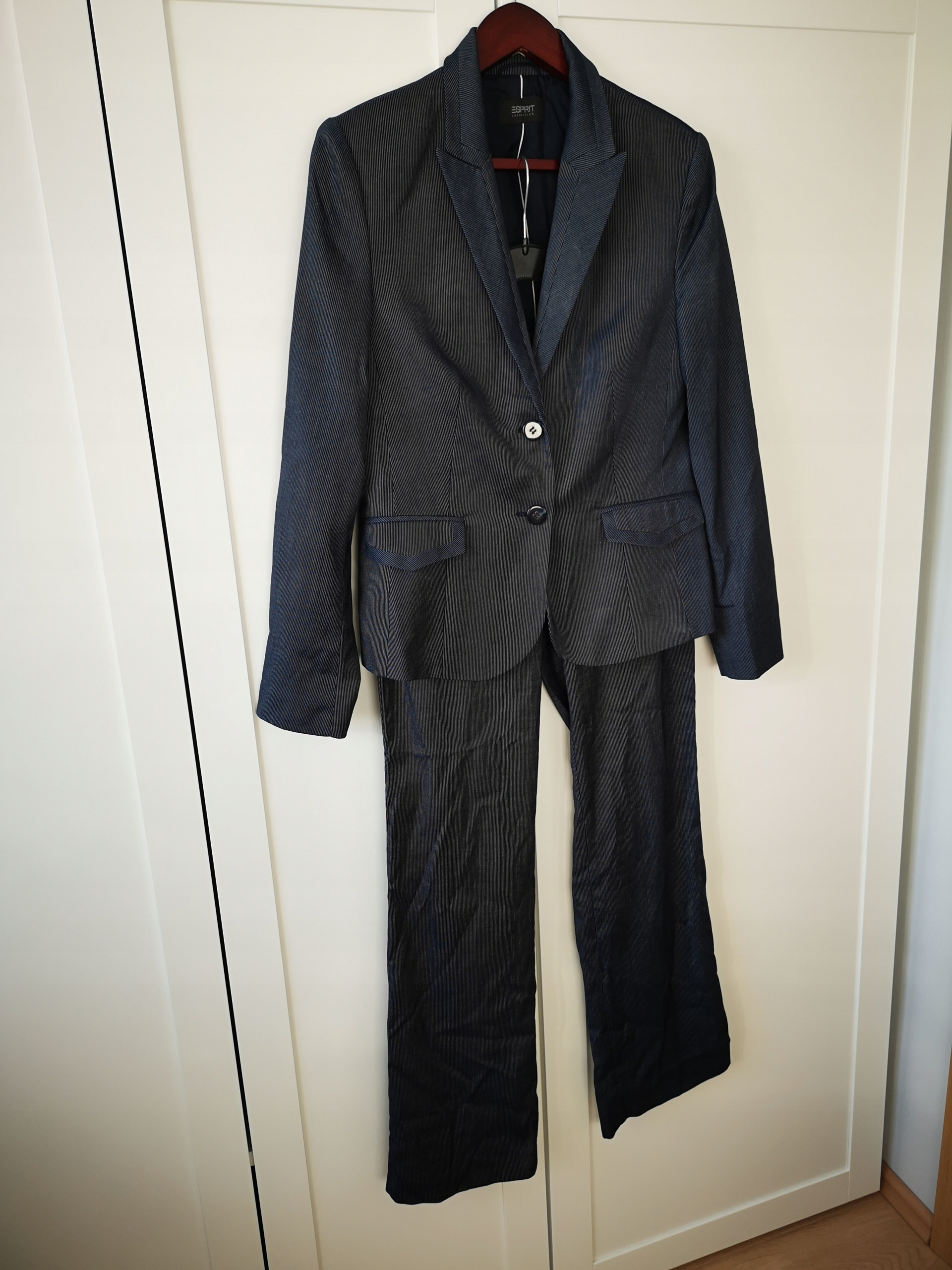 b1c7fa647f ESPRIT marynarka i spodnie komplet zara 38 40 - 7701217212 ...