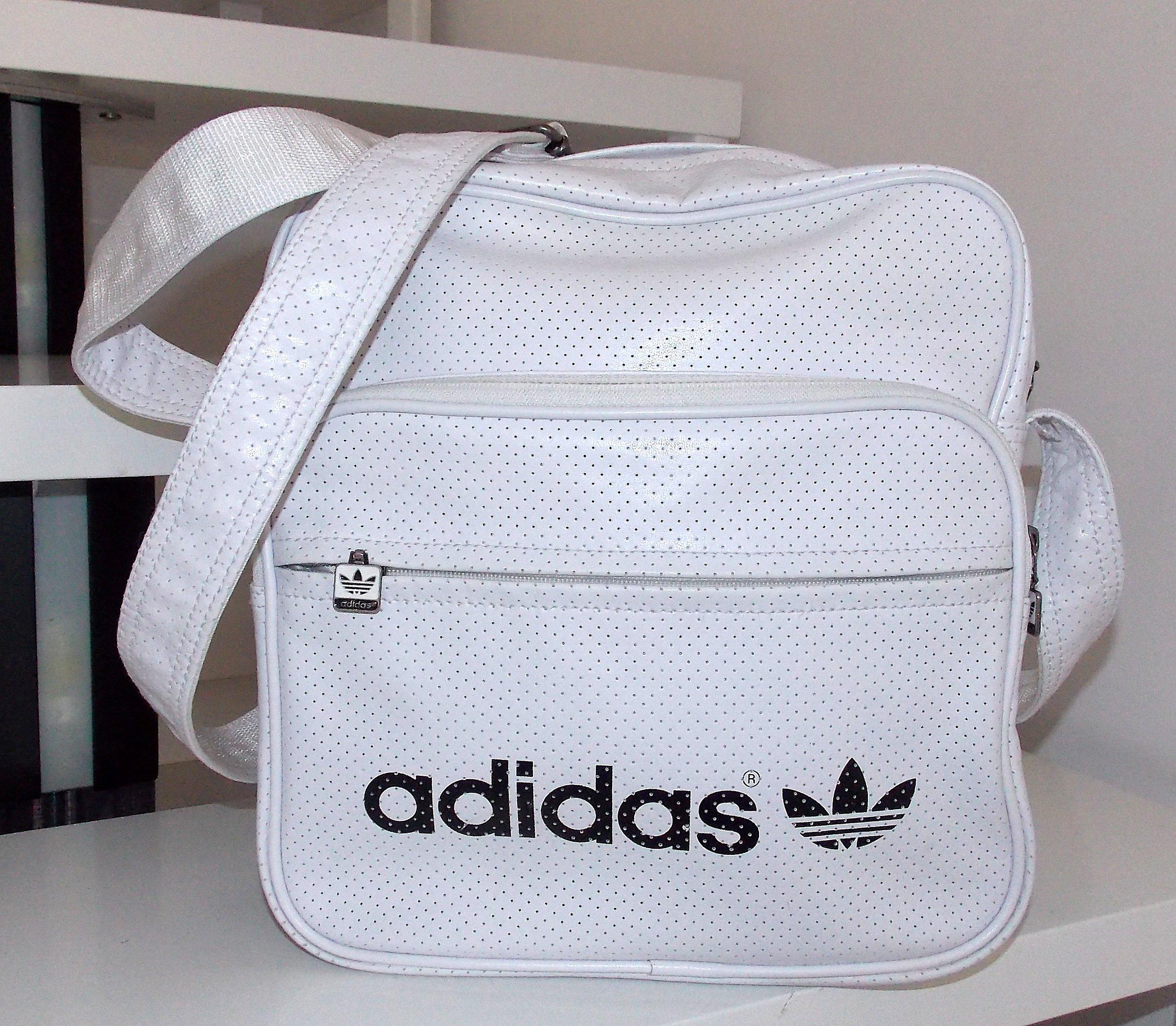 7fd514a71d98f adidas biała sportowa torebka - 7405641064 - oficjalne archiwum allegro