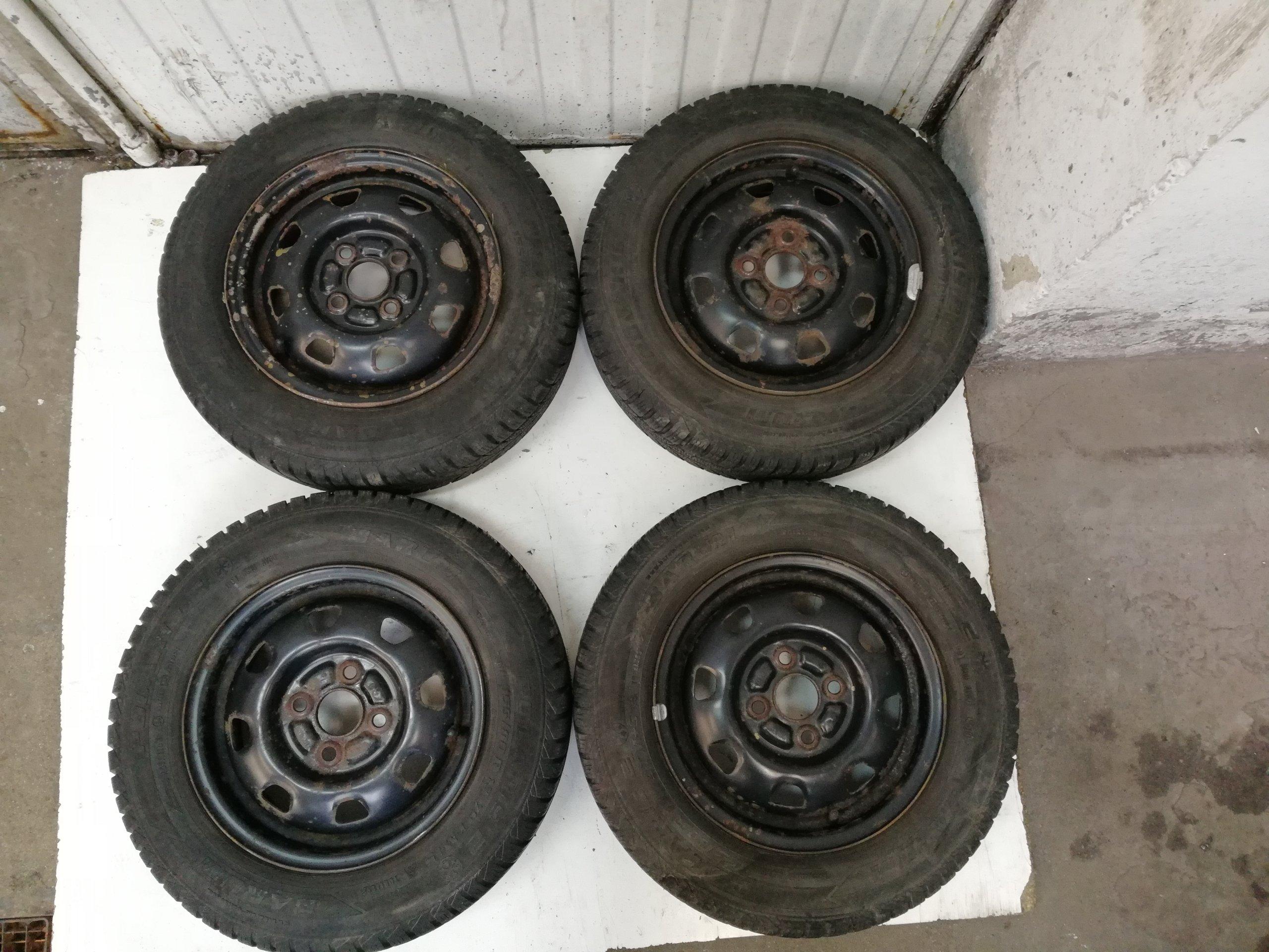 Toyota Yaris 99 05 4x100 Felgi Opony Zimowe 7171576929