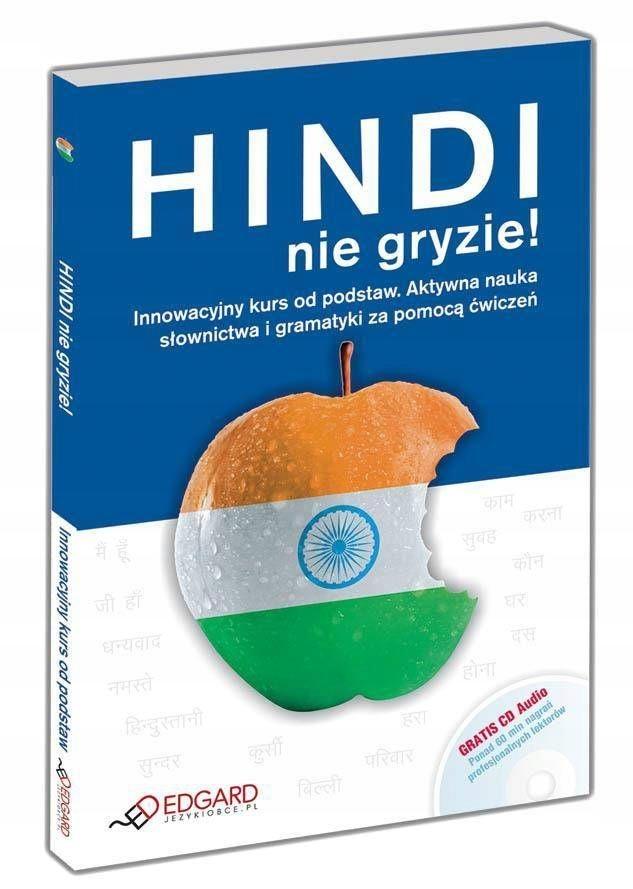 Hindi nie gryzie! + CD /książka PROMOCJA nowa