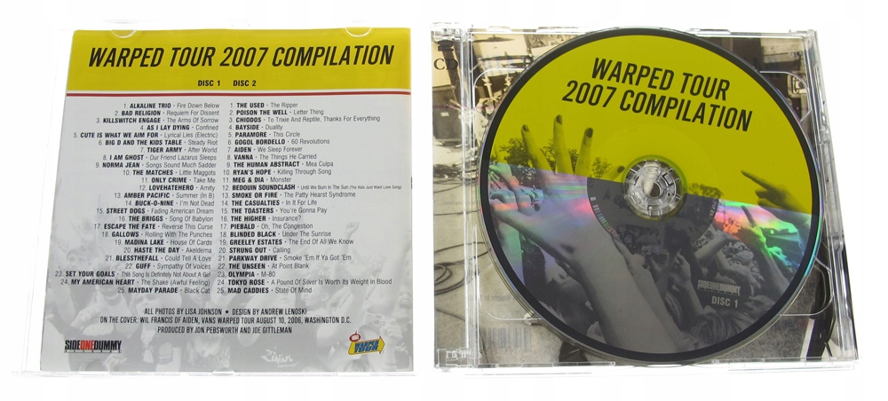 warped tour compilation 2008