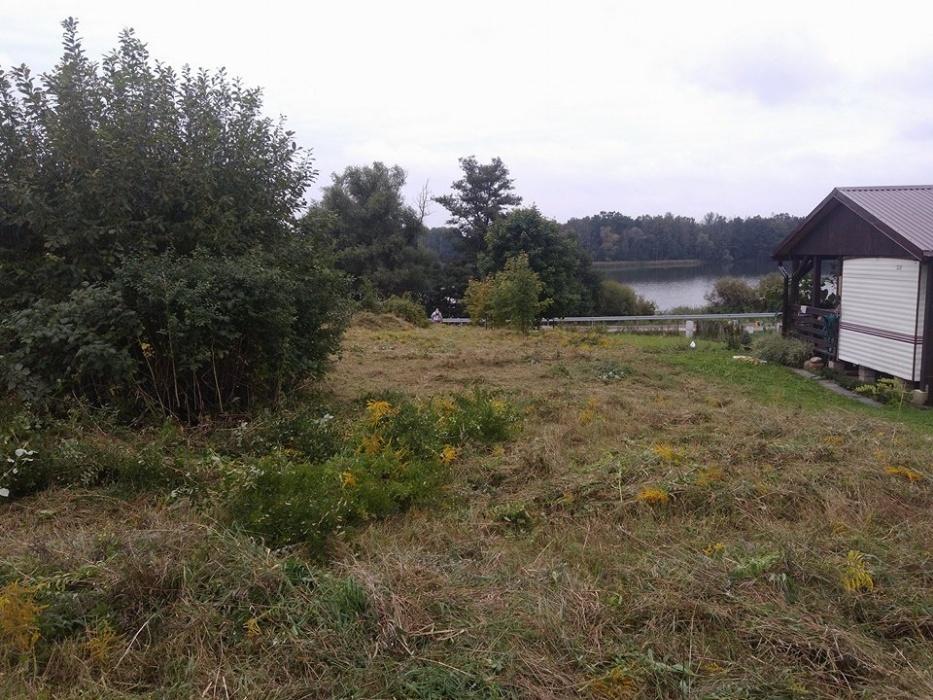 Działka nad jeziorem Małszewko