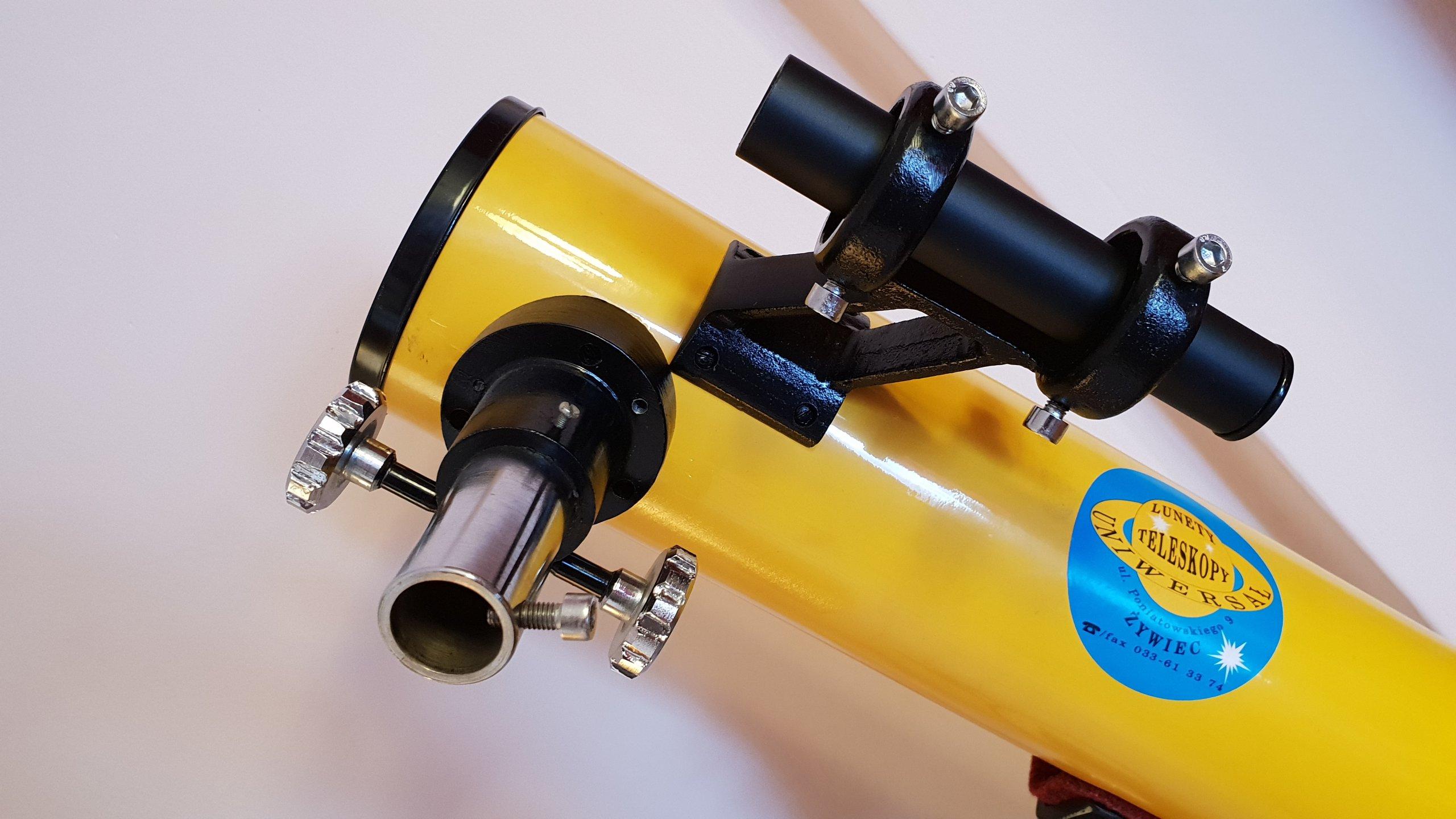 Profesjonalny teleskop newtona firmy uniwersał
