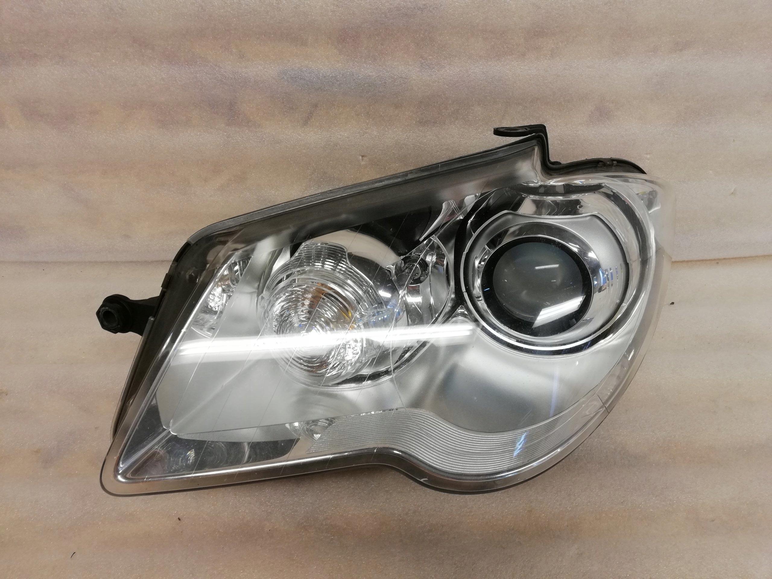 Lampa Lewa Vw Touran 1t1 Lift Xenon Demontaż 7380807290