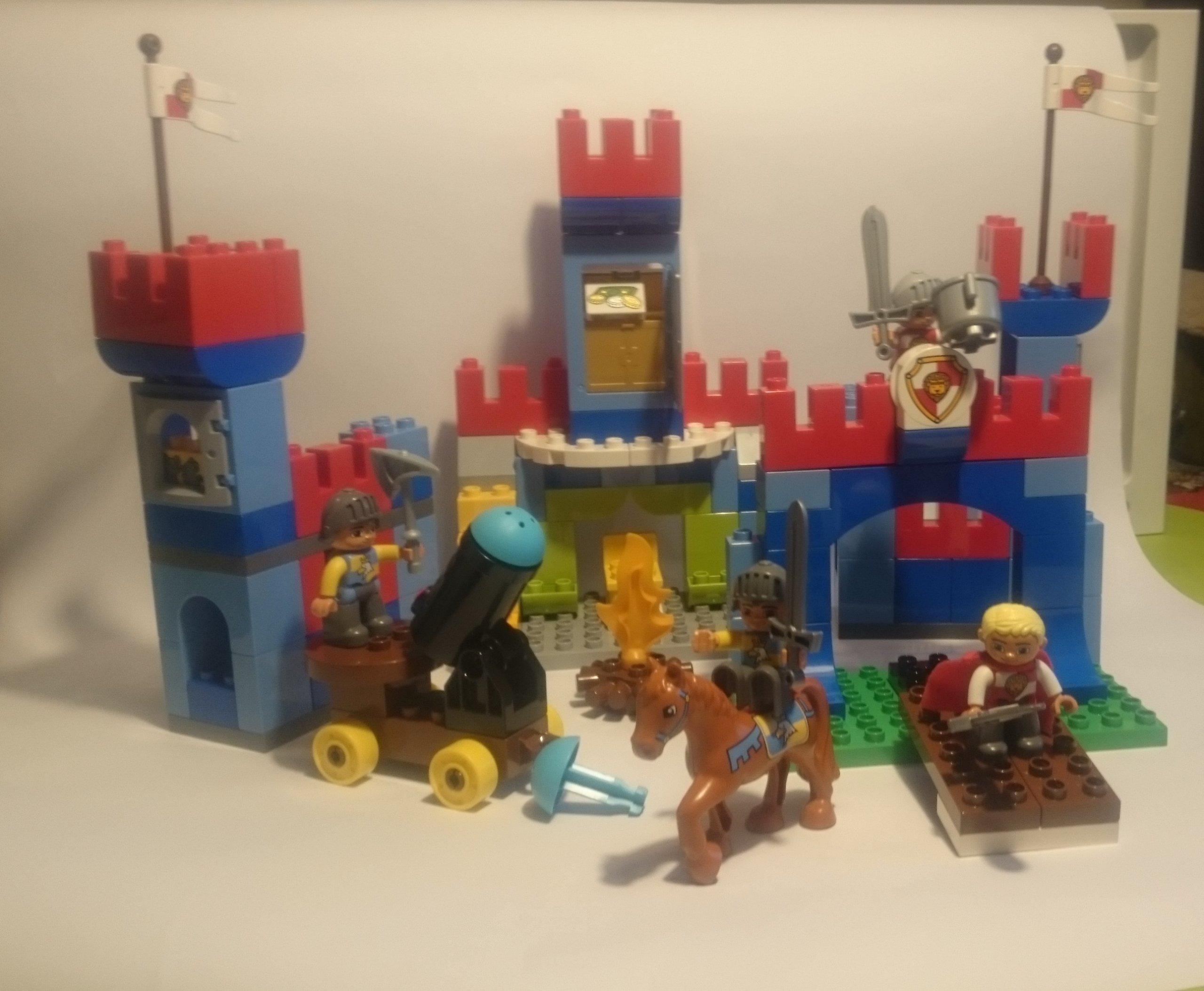Klocki Lego Duplo Zamek Rycerski 10577 7088009657 Oficjalne