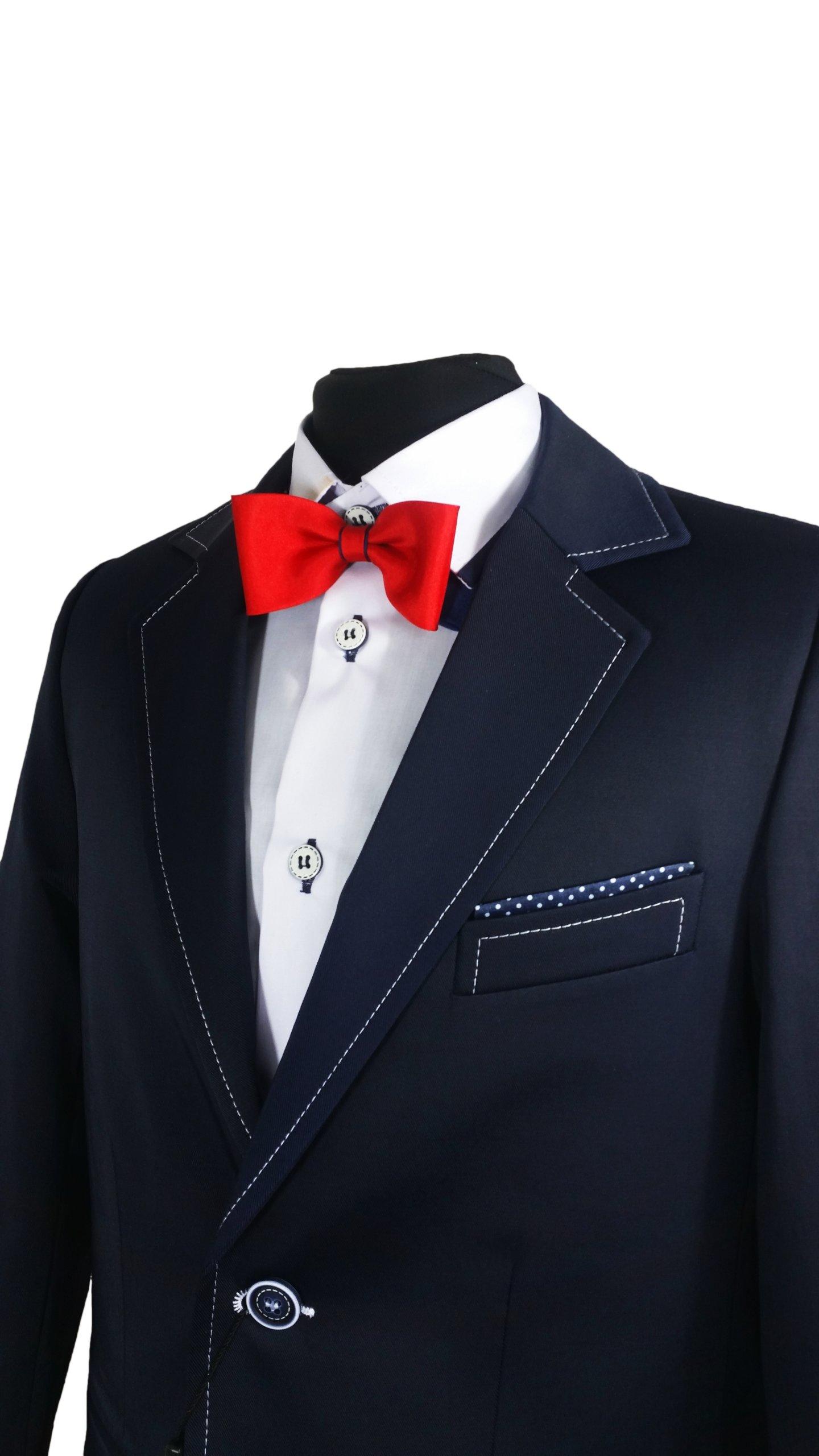 090575cea4 Elegancki garnitur chłopięcy JANKES 152 - 7268043251 - oficjalne archiwum  allegro