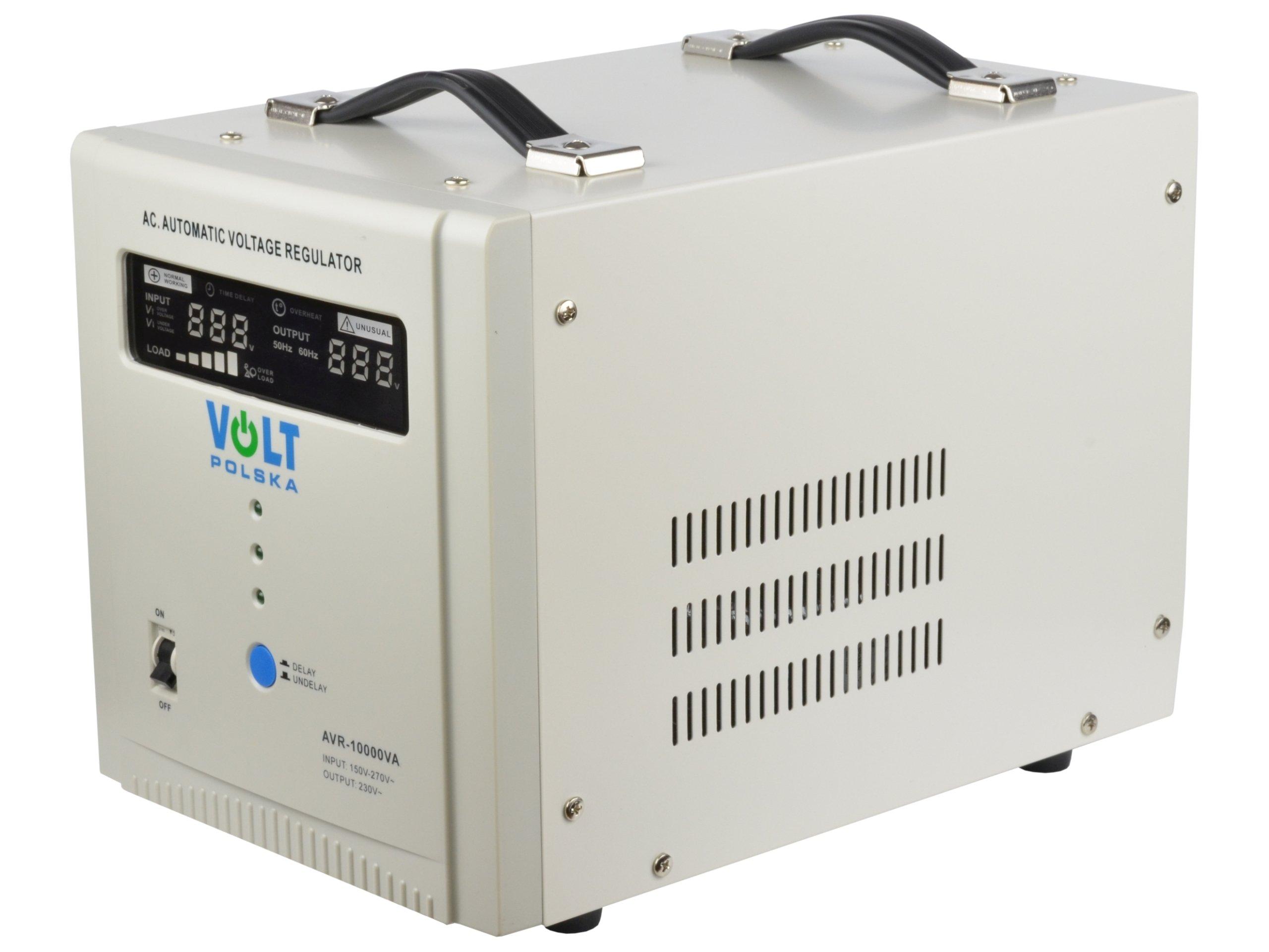 Stabilizator napięcia prądu do agregatu AVR 10000W