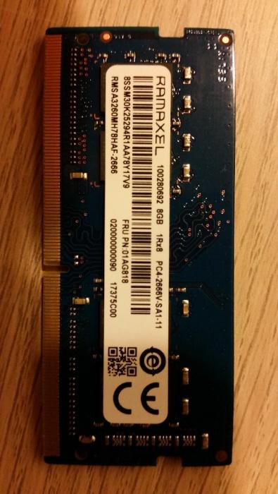 Pamięć RAM DDR4 8GB Ramaxel RMSA3260MH78HAF-2666 - 7314451540