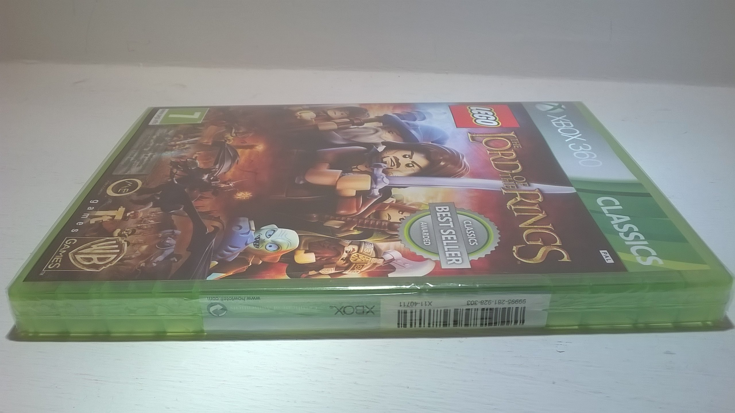Lego Władca Pierścieni Pl Nowa Folia Xbox360 Sklep 7132911429