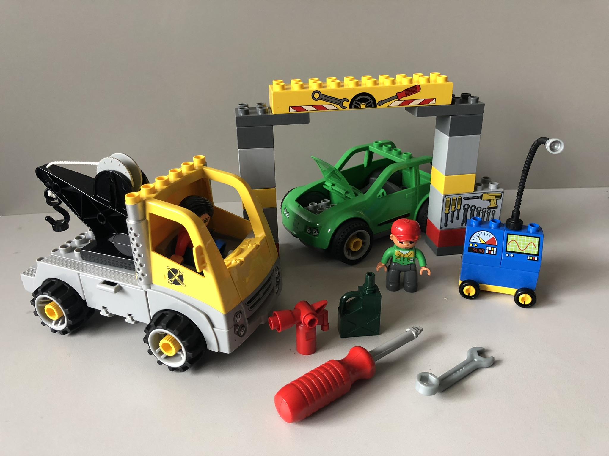Lego Duplo Zestaw 5641 Warsztat Samochodowy 7238443969