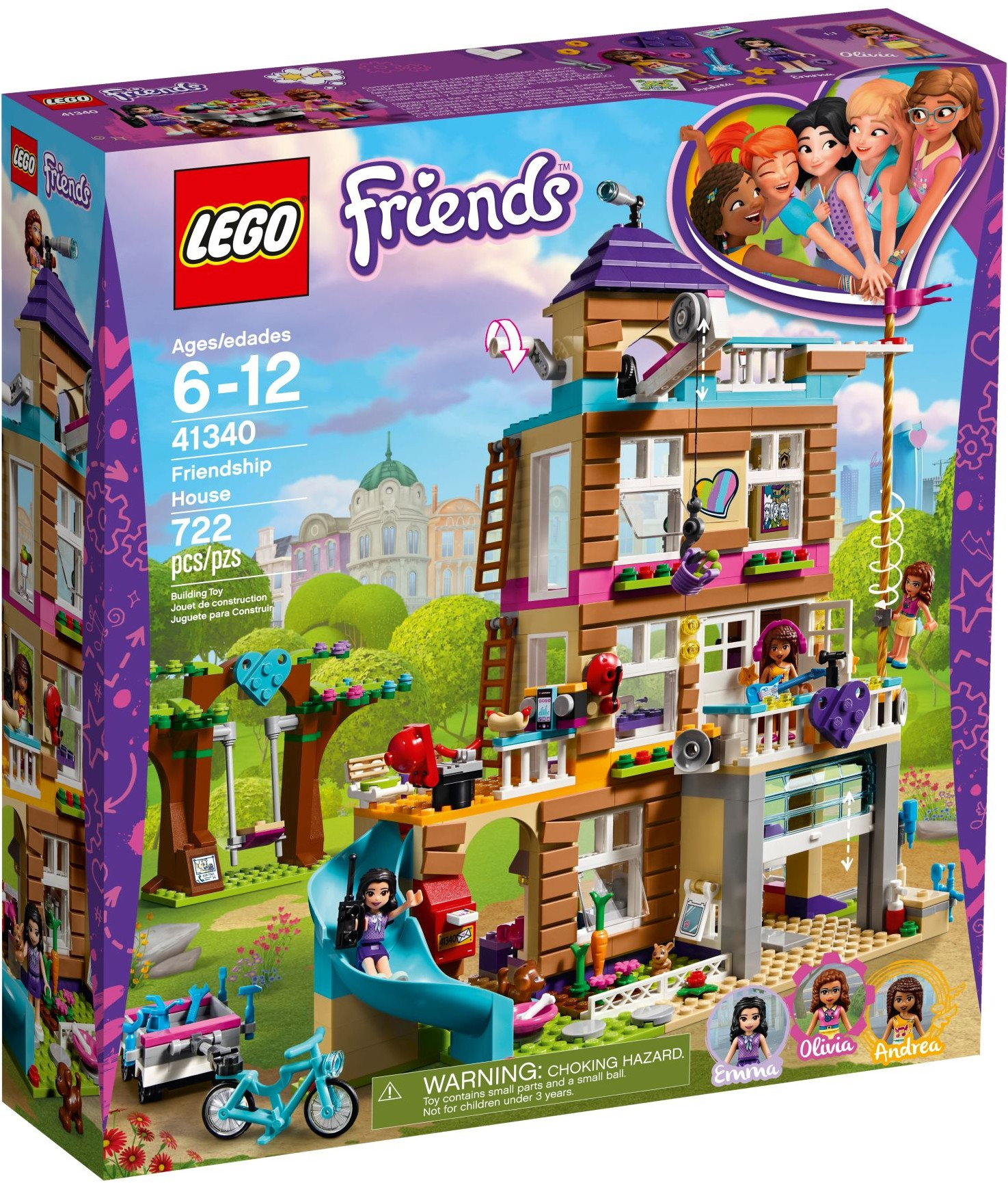 Lego 41340 Friends Dom Przyjaźni W Wa 7362283593 Oficjalne