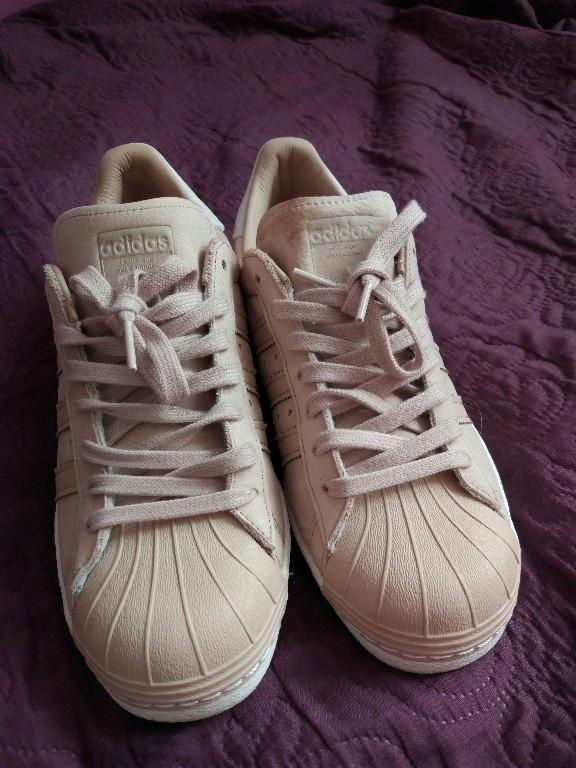 ogromny wybór sklep z wyprzedażami 2018 buty Buty ADIDAS SUPERSTAR rozm. 42 2/3 pudrowy róż - 7530497651 ...