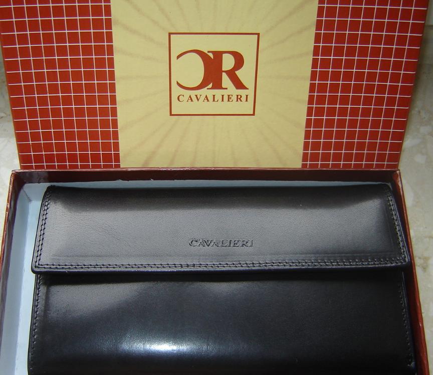 d0855f72b0a33 Portfel damski firmy CAVALIERI - 7230375770 - oficjalne archiwum allegro