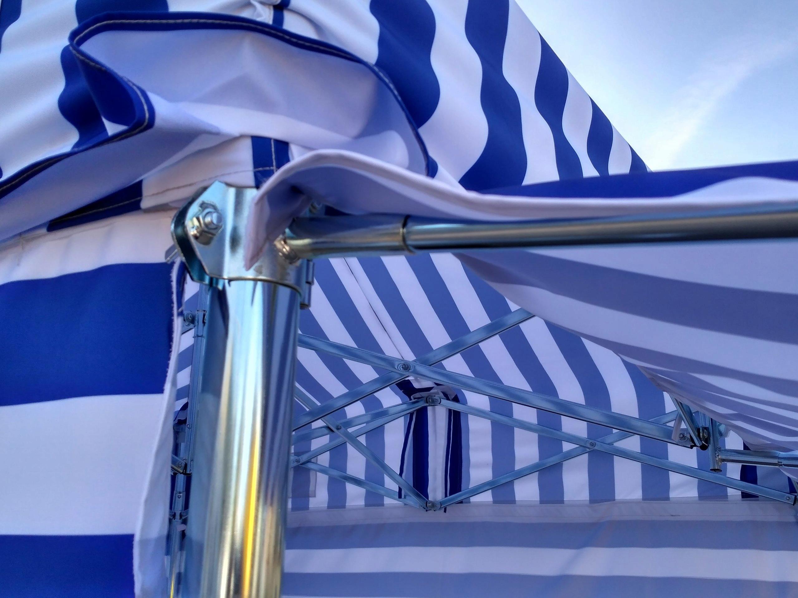 Oryginał Namiot Handlowy Pawilon ekspresowy 3,75 x 2,5 lech - 7507339335 HK16