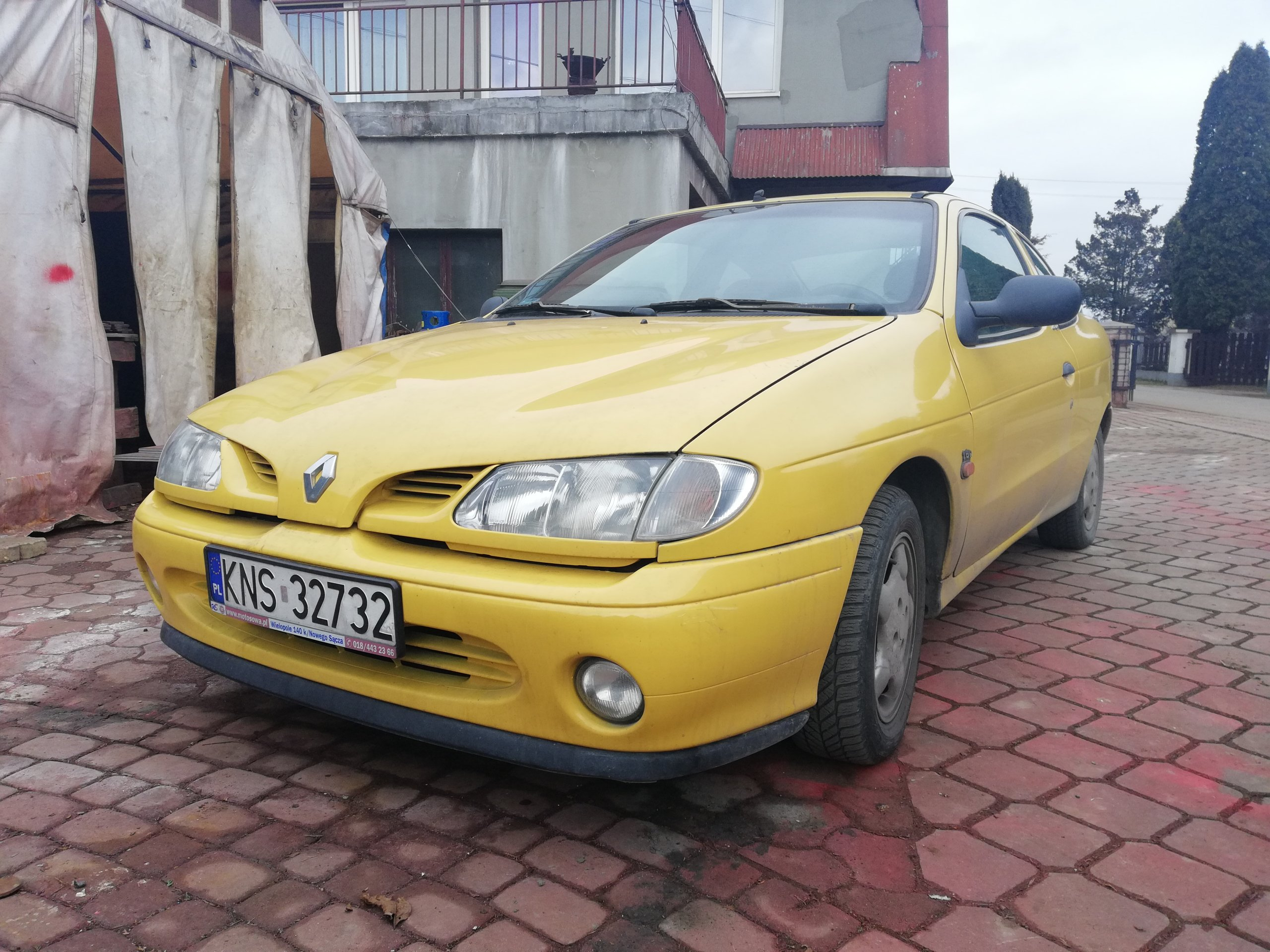 Inne rodzaje Renault Megane Coupe 1,6 benzyna 1996 - 7238235248 - oficjalne VU62