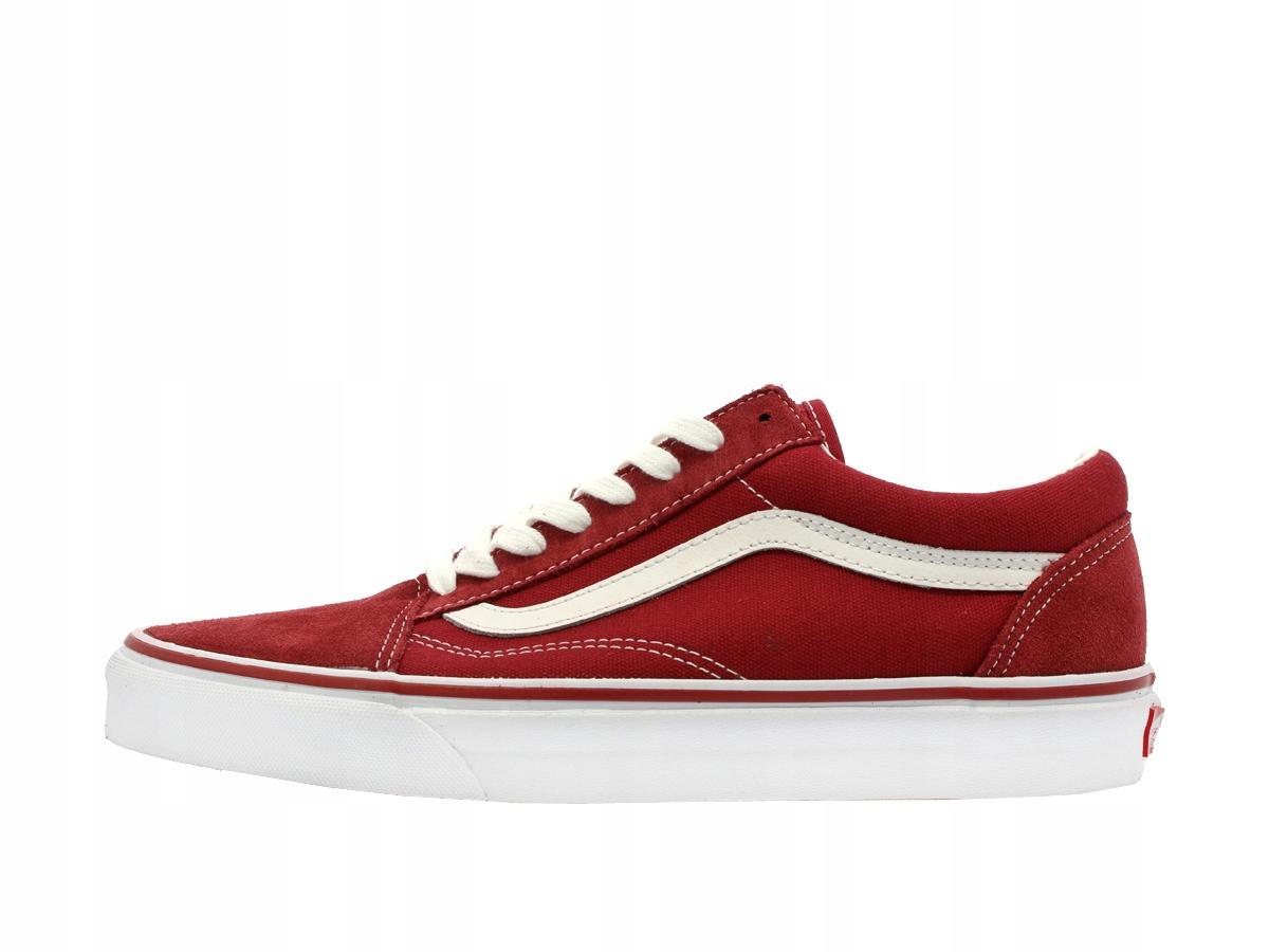 Trampki Vans Old Skool Red rozmiar 36 7446170571