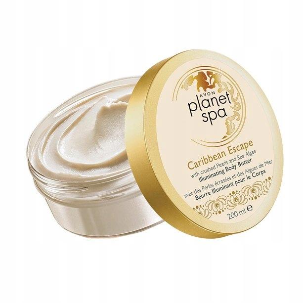 Avon Rozświetlające masło ciała PLANET SPA algami
