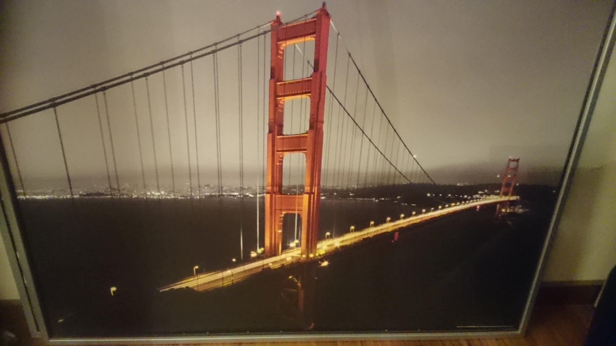 Obraz Ikea Most Golden Gate Loft Styl Industrialn 7201140679