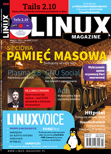 Linux Magazine 3/2017: NAS Tails 2.10