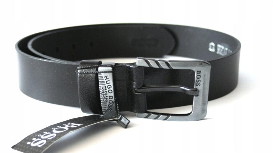 66e7c5840eab8 Hugo Boss pasek skórzany czarny 110 cm - 7570133330 - oficjalne ...