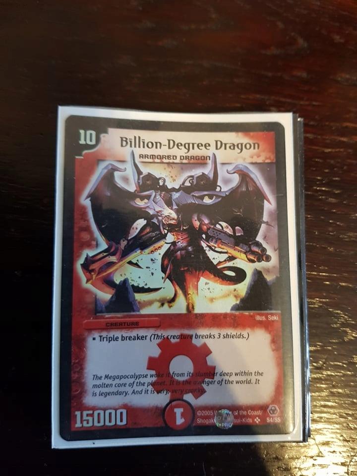 Billion-Degree Dragon