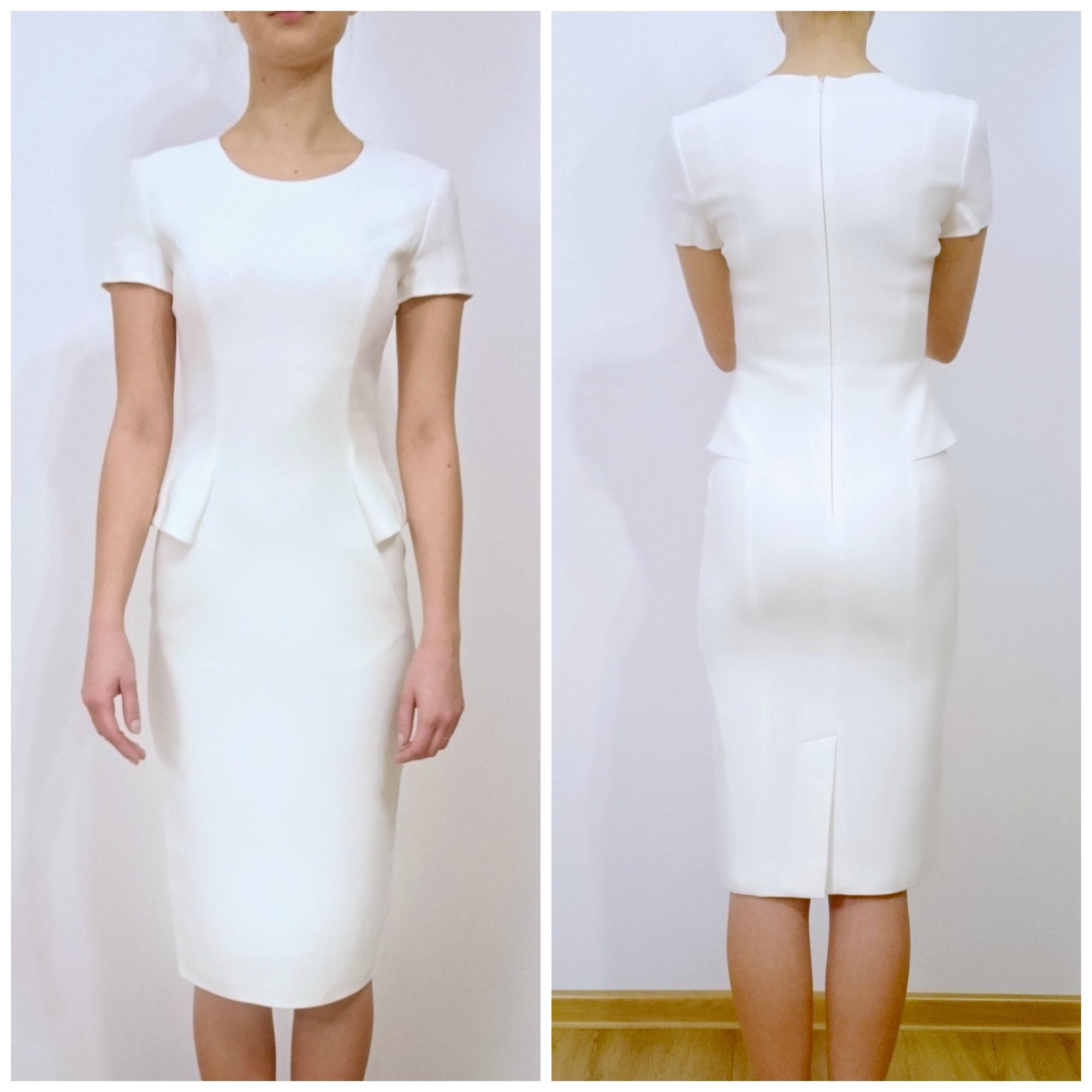 61ad521978 Sukienka LA MANIA LaMania ecru kremowa r. 34 xs - 7311082279 ...