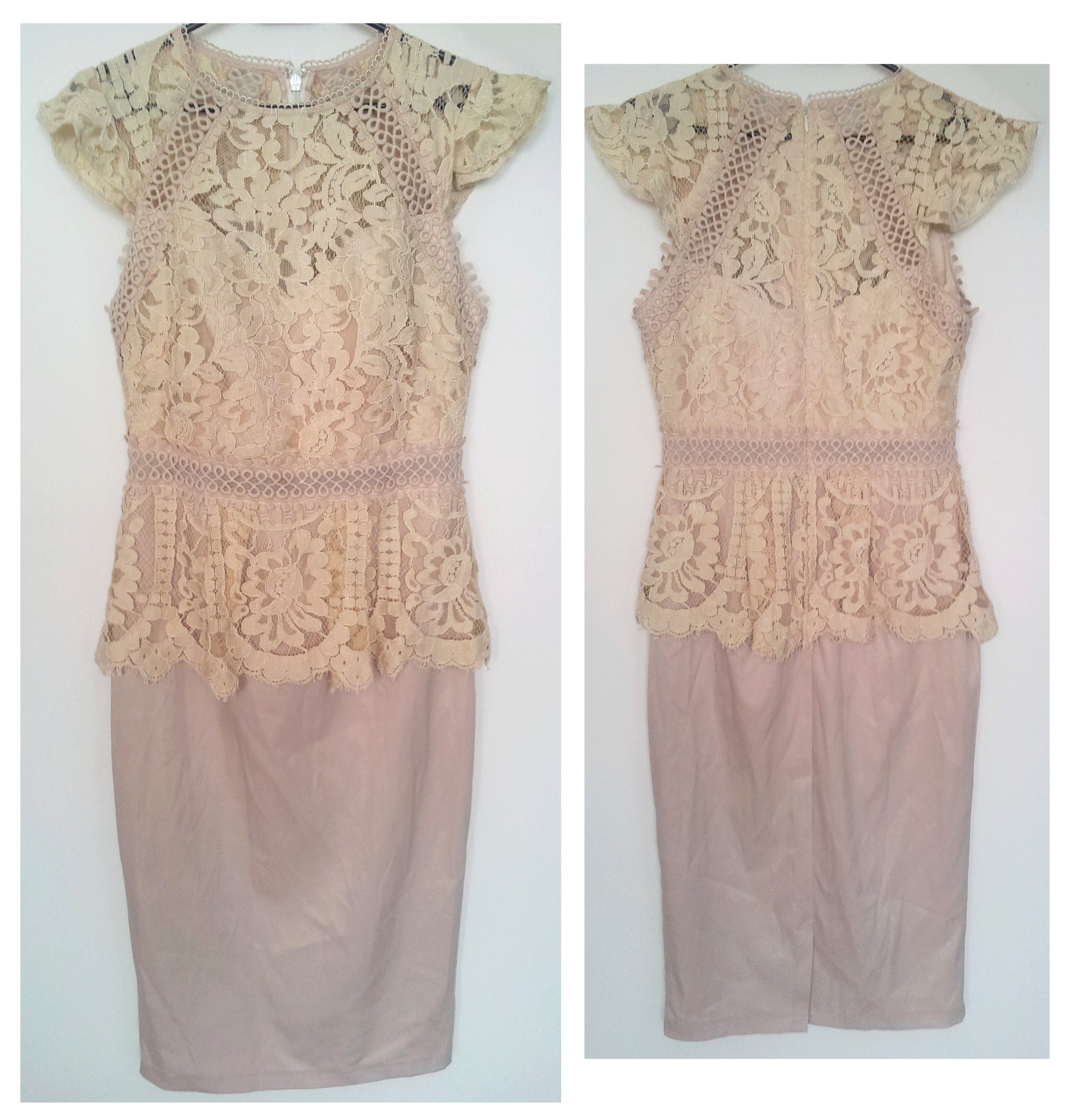 5fe08388c4 LIPSY VIP sukienka koronkowa 36 38 S M - 7396864851 - oficjalne ...