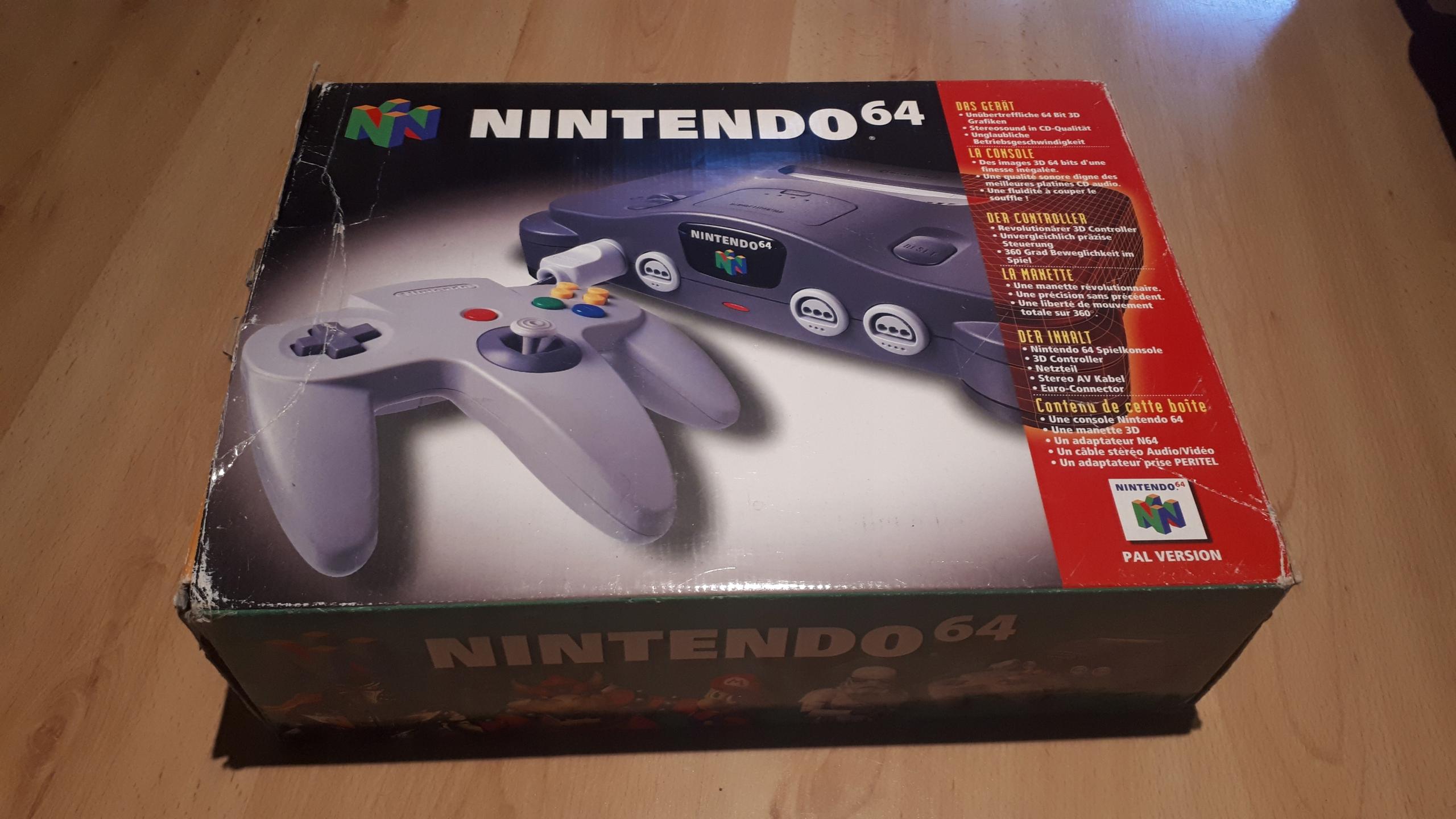 Nintendo 64 pełny zestaw + Gra Super Mario 64