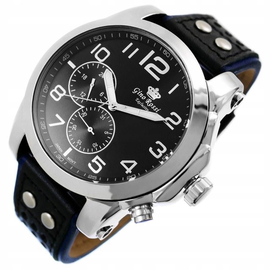 bacd33156de6d Zegarek Męski Gino Rossi DONER PASEK NOWY GW - 7645349722 ...