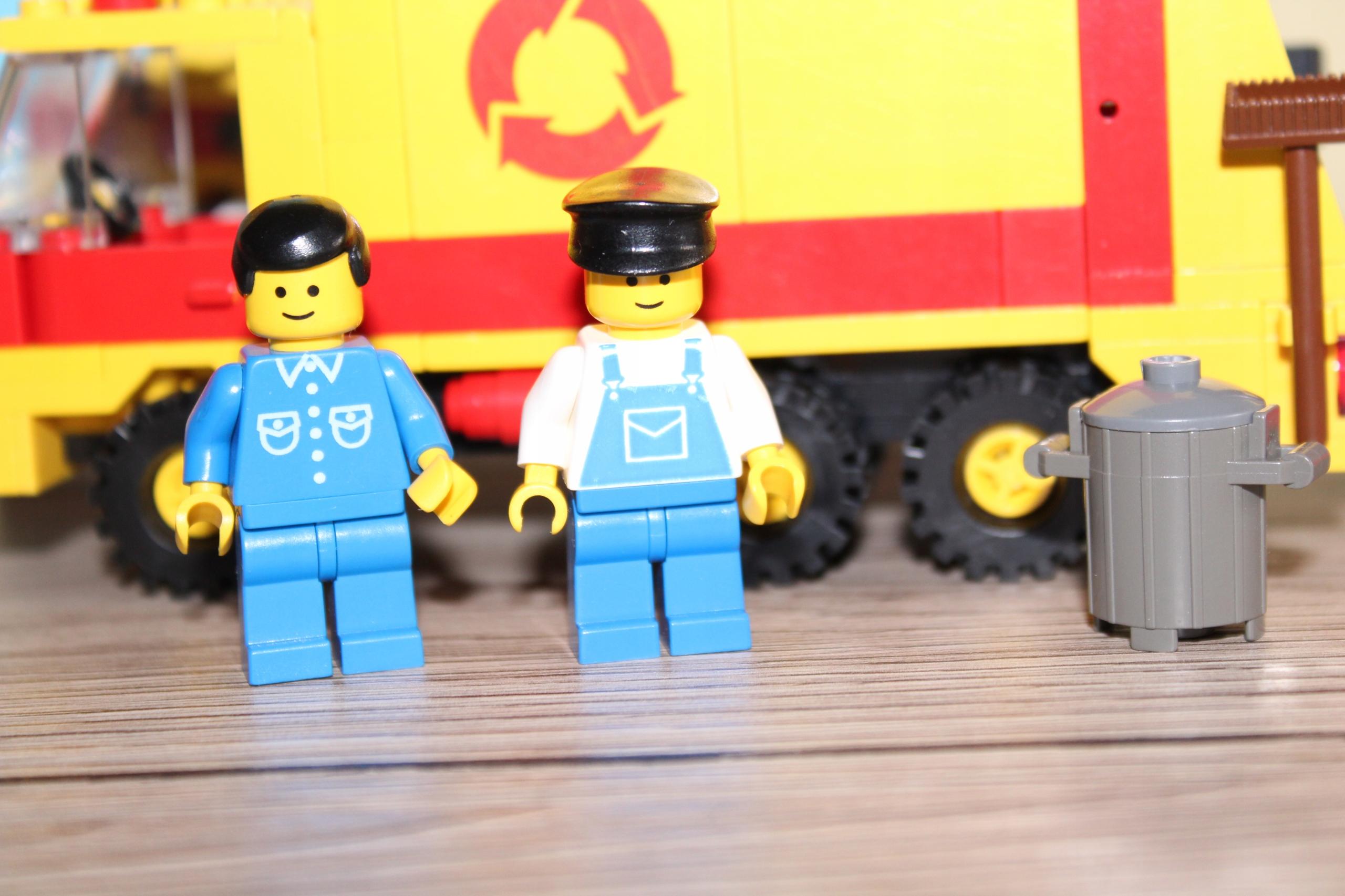 Lego 6693 City Town Legoland śmieciarka Instrukcja 7567425018