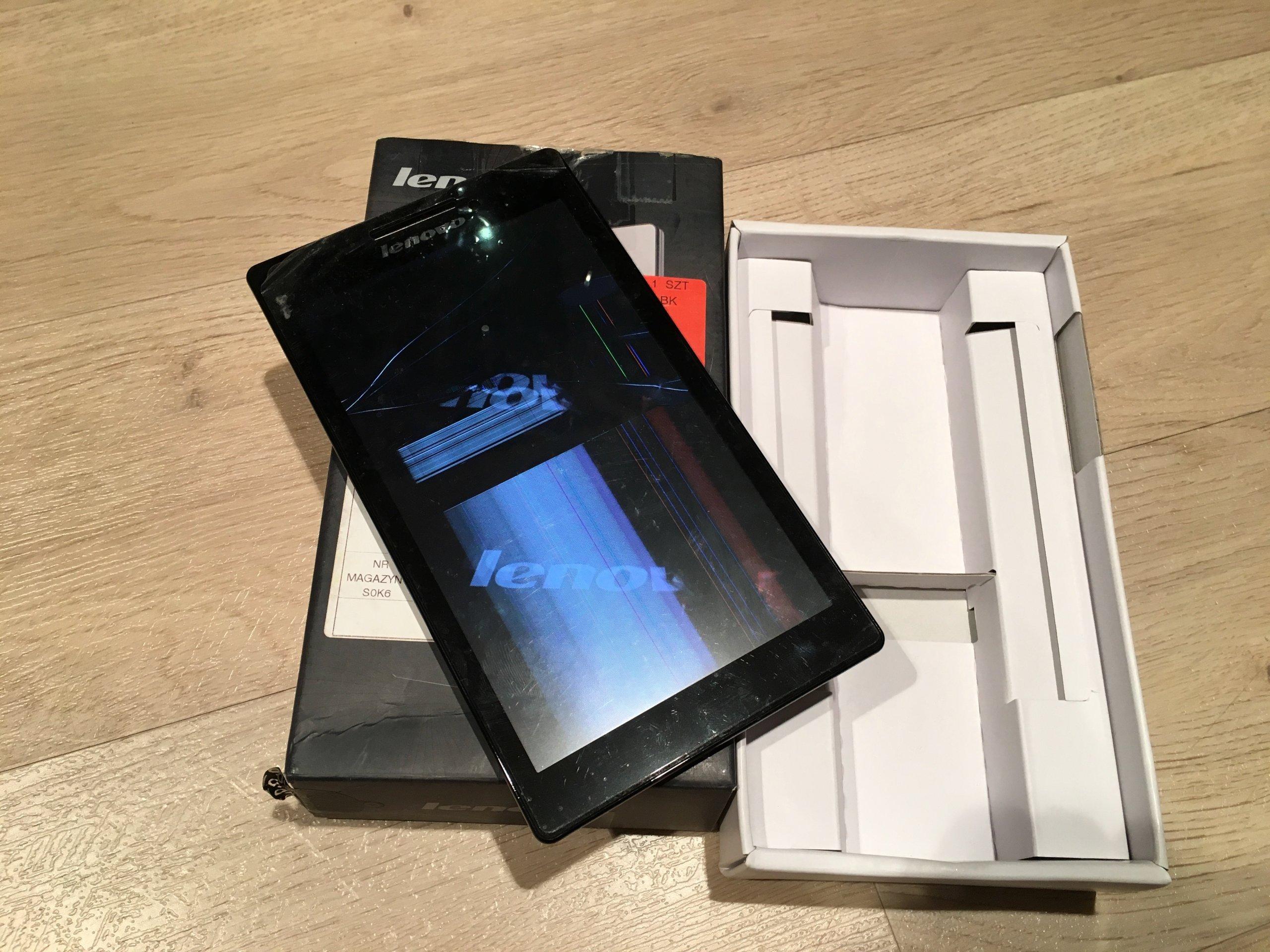 Tablet Lenovo Tab2 A7 10f 7 Wifi Zbity Lcd 7142607489 Oficjalne 7quot
