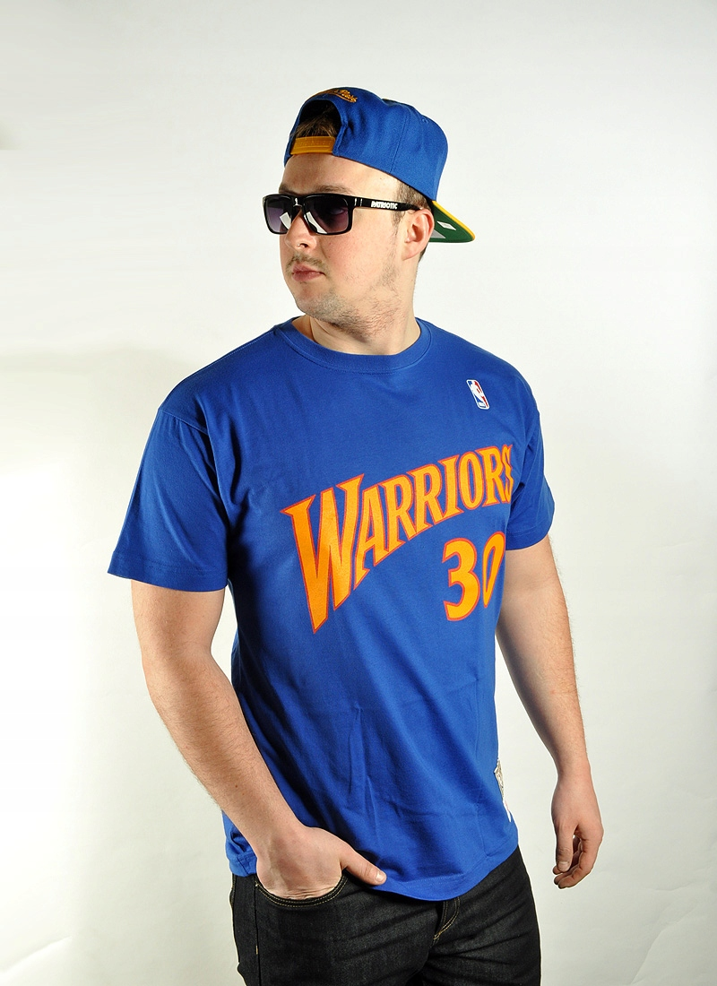 aebe4836a Koszulka L Mitchell Ness Player Curry NBA Warriors - 7261643966 ...