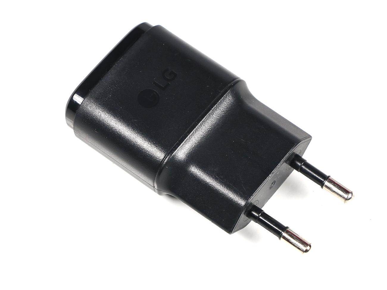 Ładowarka sieciowa LG 5V 850mA Używana
