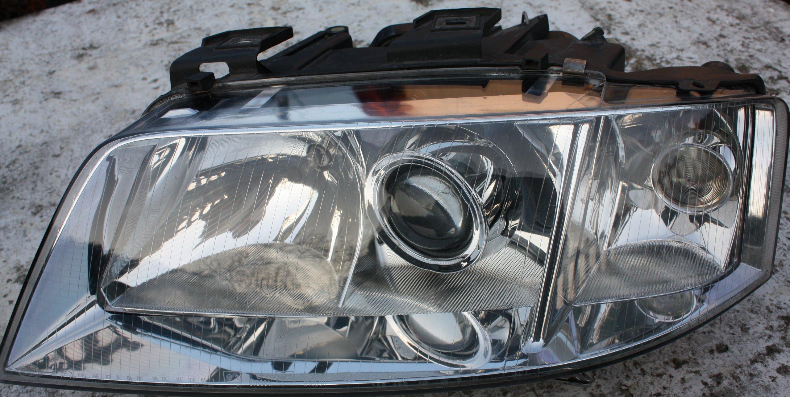 Reflektory Lampy Hella Audi A6 C5 Xenon 6735053891 Oficjalne Archiwum Allegro