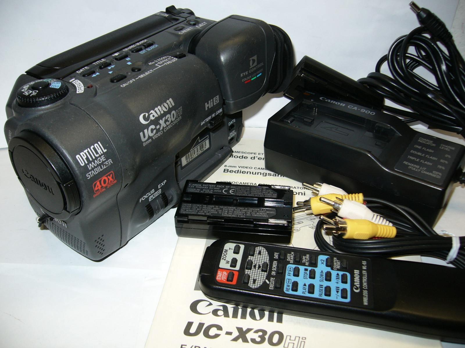 CANON UC-X 30HiE - przegraj stare kasety Hi8/8mm