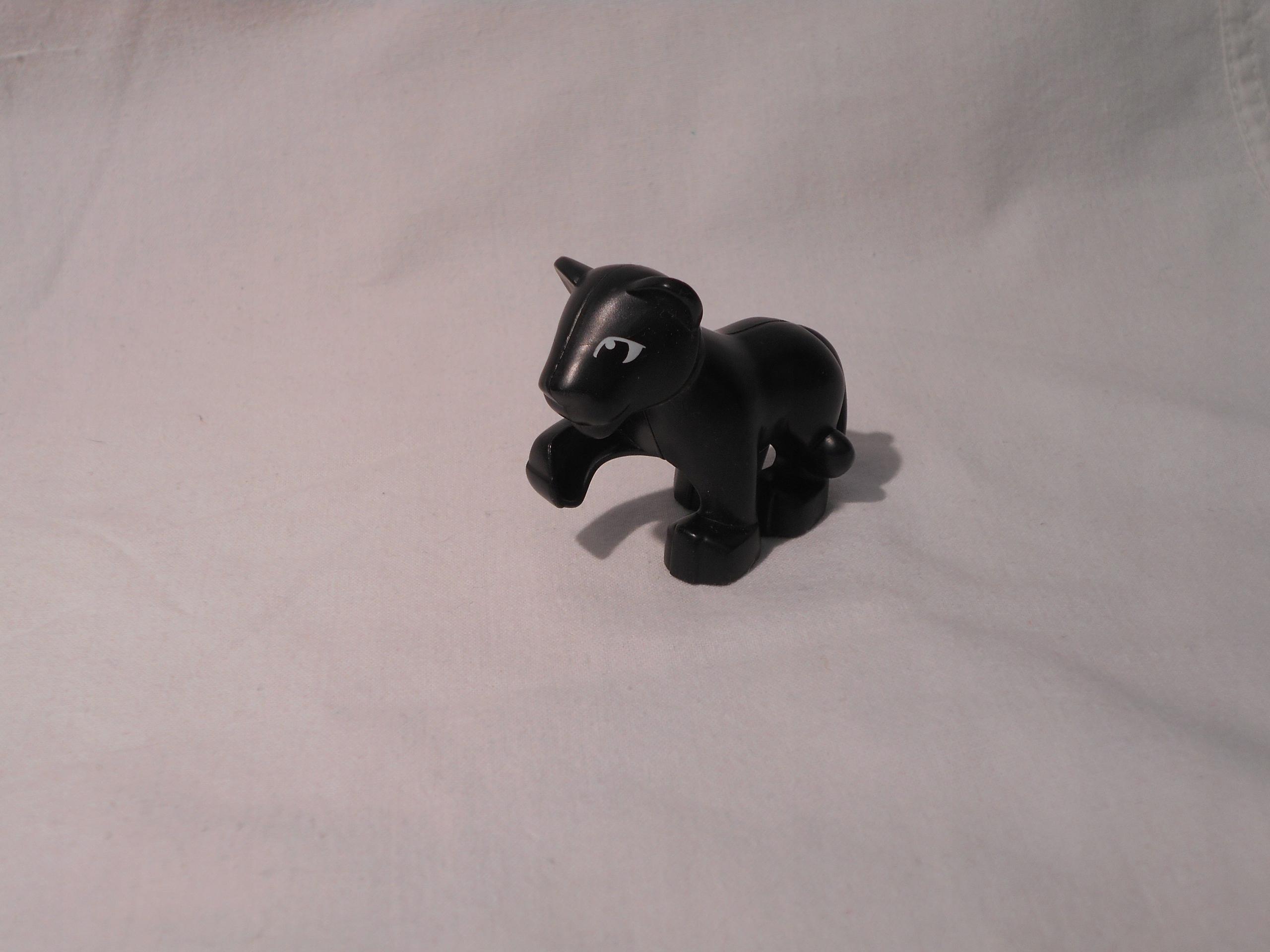Pp Lego Duplo Puma Czarna Zwierzę Puma Mała 7677664457 Oficjalne