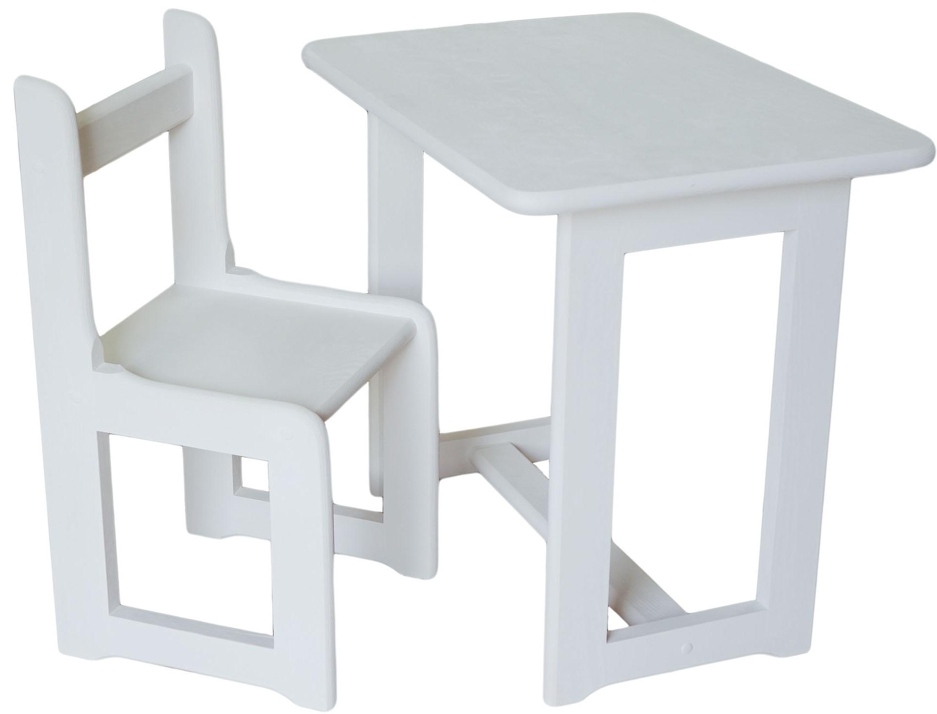 Krzesełkostolik Dla Dziecka Smyka Biały Całość