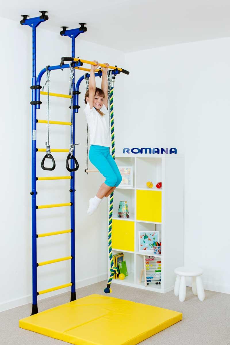 Niewiarygodnie Drabinka gimnastyczna dla dzieci ROMANA KOMETA 5 - 7383065516 VK83